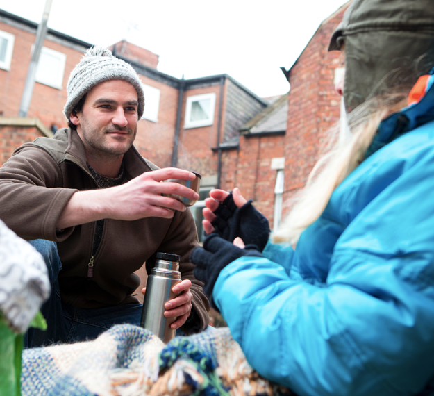 Case study Signposts homeless charity