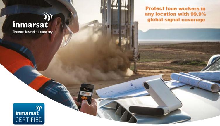 Inmarsat satellite company partnership