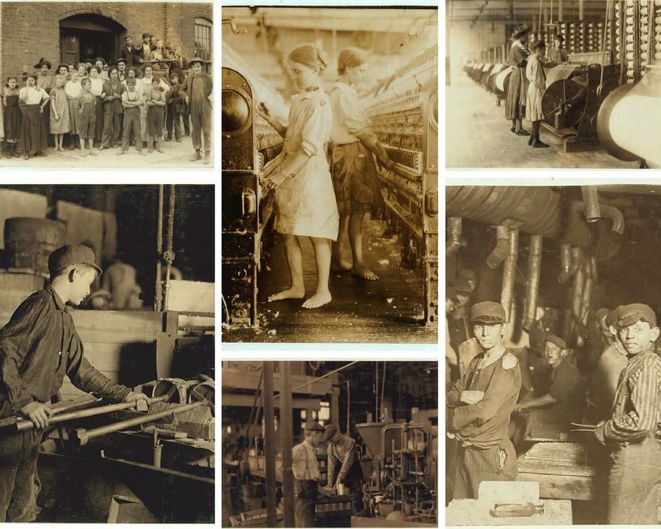 Child labour during industrial revolution (evolution of occupational health and safety)
